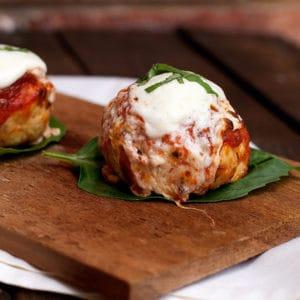 Parmesan meatballs